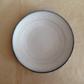 陶器プレート(藁灰釉)