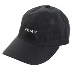 PGAC(PGAC)リネン刺繍キャップ ARMY 897PA9ST1695 BLK (Men's)