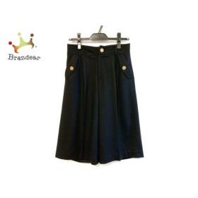 ブルーレーベルクレストブリッジ BLUE LABEL CRESTBRIDGE パンツ サイズ36 S レディース 黒   スペシャル特価 20190923