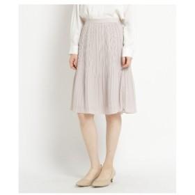 AG by aquagirl(エージー バイ アクアガール)◆【洗える】ジョーゼットプリーツスカート