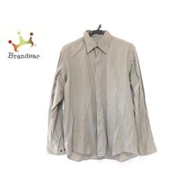ラコステ Lacoste 長袖シャツ サイズ4 XL メンズ グレー   スペシャル特価 20190928