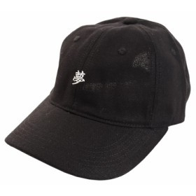 PGAC(PGAC)リネン刺繍キャップ YUME 897PA9ST1725 BLK (Men's)