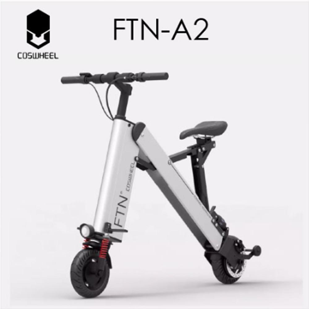 techone ftn a-2 電動自行車 可折疊超強續航智能代步車 迷你超輕型電瓶 一秒摺疊 鋰電