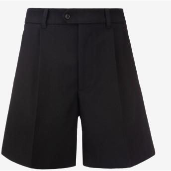 Men'S Wool Shorts ブラック