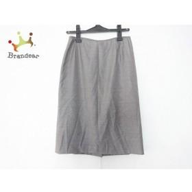 ランバンコレクション LANVIN COLLECTION スカート サイズ40 M レディース 美品 黒×白×グレー   スペシャル特価 20191008