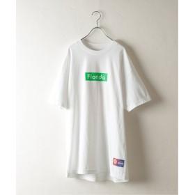 JOURNAL STANDARD relume UNIV. PRINT Tシャツ ホワイト M