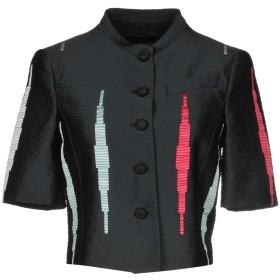 《セール開催中》EMPORIO ARMANI レディース テーラードジャケット ブラック 40 90% ポリエステル 10% アクリル