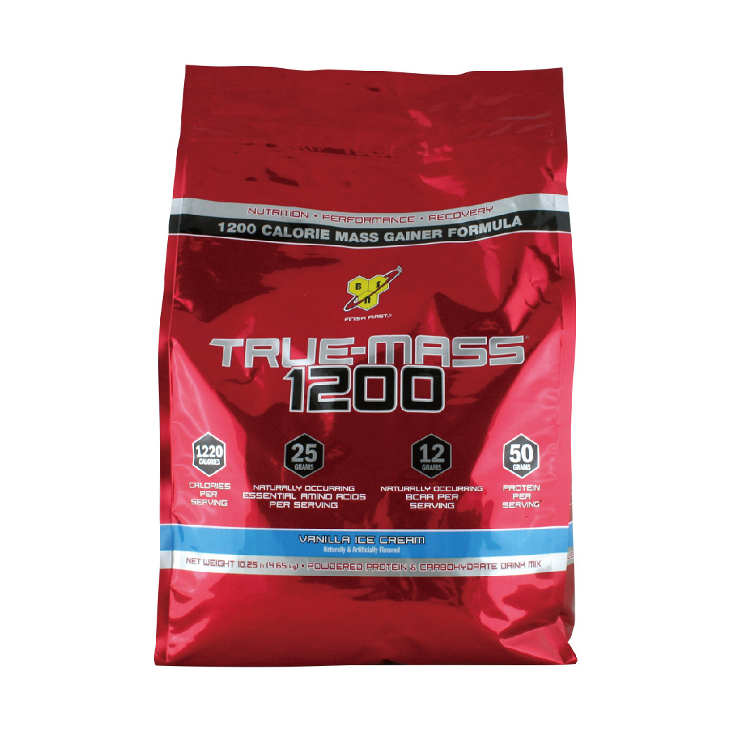 [美國 BSN] True-Mass 1200高熱量乳清蛋白 (10.38磅/袋) 巧克力