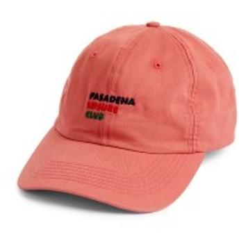 パサデナレジャークラブ メンズ 帽子 アクセサリー Pasadena Leisure Club Logo Cap Coral