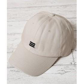ジギーズショップ ワンポイント刺繍キャップ / キャップ メンズ 帽子 CAP メンズ アイボリー フリーサイズ 【JIGGYS SHOP】
