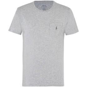 《送料無料》POLO RALPH LAUREN メンズ T シャツ グレー XXL コットン 100% Custom Fit T shirt