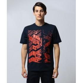 【オンワード】 CK CALVIN KLEIN MEN(CK カルバン・クライン メン) 【プリント】フォトグラフィック Tシャツ ネイビー M メンズ 【送料無料】