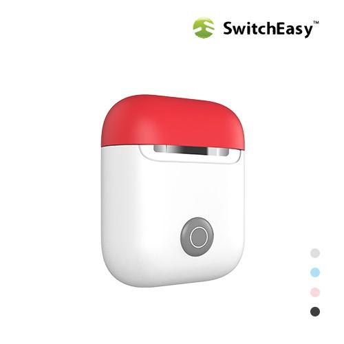 SwitchEasy AirPods Colors 保護套 多贈送一個上蓋 蘋果 耳機 無線耳機 防摔套 神奇豆
