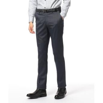 【オンワード】 JOSEPH ABBOUD(ジョセフ アブード) 【手洗い可】ハイパワーシャンブレーストライプ パンツ ネイビー 36 メンズ 【送料無料】