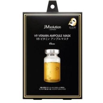 JMsolutionJapan V9 ビタミン アンプルマスク クリア 30g×5枚入
