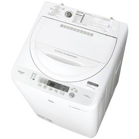 シャープ4.5kg全自動洗濯機keywordキーワードホワイトESG4E5KW