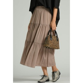 MAYSON GREY 【socolla】ティアードスカート その他 スカート,ベージュ