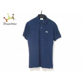 ラコステ Lacoste 半袖ポロシャツ サイズ3 L メンズ パープル  値下げ 20190907