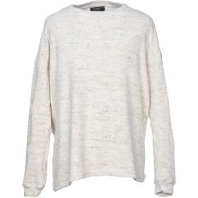 《期間限定 セール開催中》REPRESENT メンズ スウェットシャツ アイボリー XL コットン 90% / ポリエステル 10%