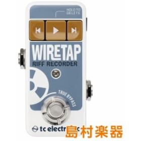 TC Electronic TC エレクトロニック WireTapRiffRecorder コンパクトエフェクター リフ・レコーダー