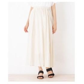 SHOO・LA・RUE(Ladies)(シューラルー(レディース))コットンワッシャーロングスカート
