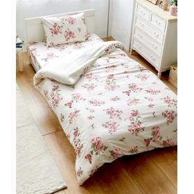 バラ柄プリント布団カバー3点セット 布団カバーセット, Bedding Duvet Covers, 被套