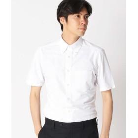 COMME CA ISM / コムサイズム 【イージーケア 吸水速乾素材】 ジャージーシャツ
