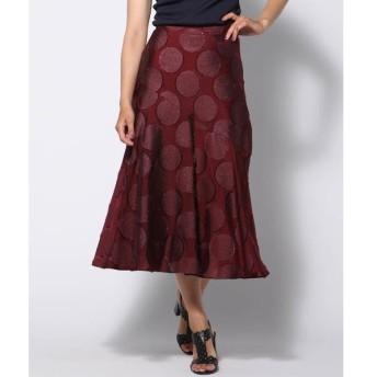 Viaggio Blu / ビアッジョブルー サークルジャガードスカート