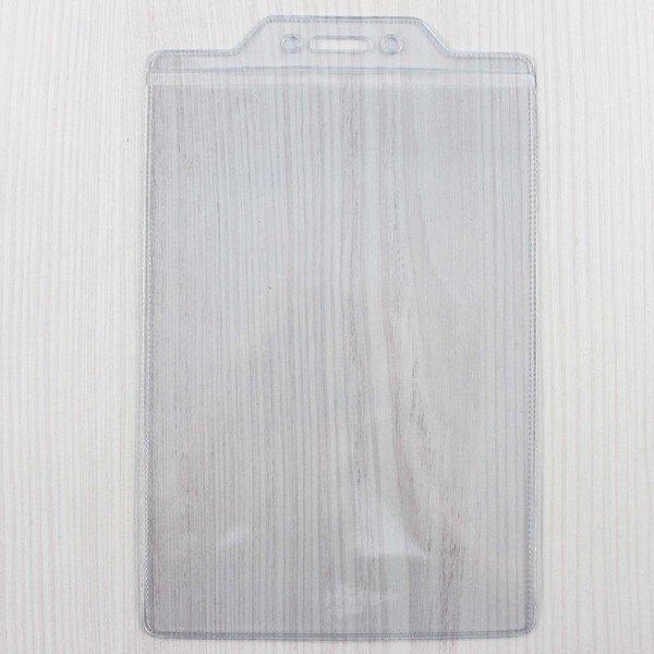4x6 名牌套 識別證套 透明軟硬(直式)/一個入(定15) 出入夾 板套 吊套-珍奇D141