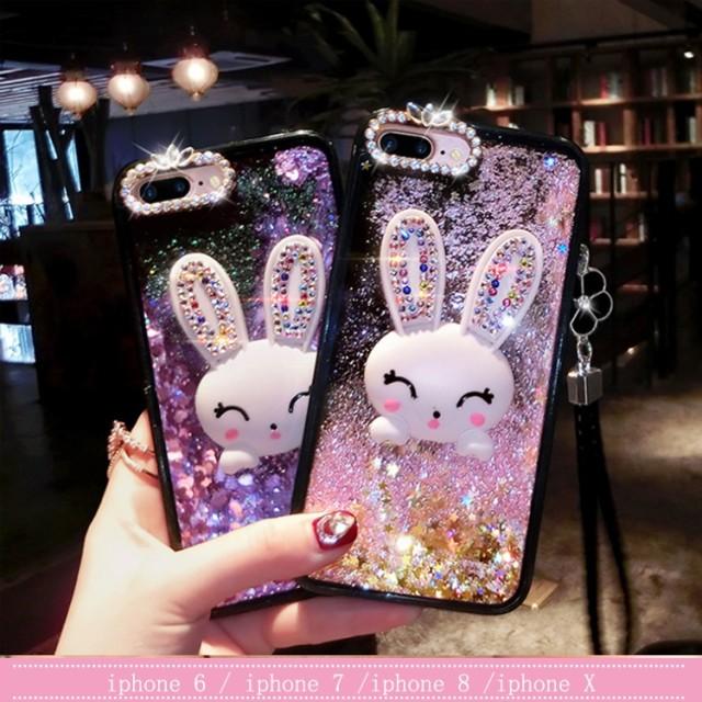 iPhone XS XR ケース iPhoneXS Max iPhone8 iPhoneケース 韓国 女性 携帯ケース スマホケース クリア 透明 キラキラ ラメ グリッター 面白い 流れアプリ