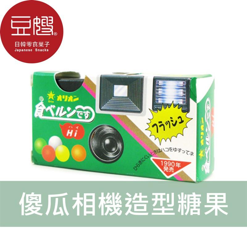 【Orion】日本零食 Orion 傻瓜相機造型糖菓子(24g)