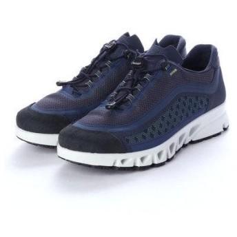 エコー ECCO Mens MULTI-VENT Outdoor Shoe (TRUE NAVY/TRUE NAVY)