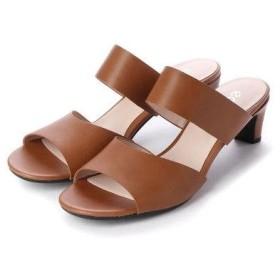 エコー ECCO SHAPE SLEEK SANDAL 45 Shoe (CAMEL)
