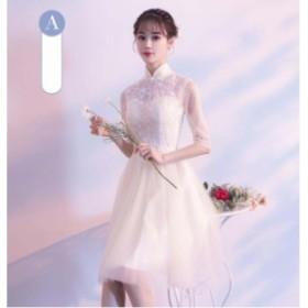 ウェディングドレス 結婚式 花嫁 二次會 パーティードレス  プリンセスライン ウエディングドレス ブライダル 素敵 ワンピース