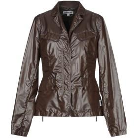 《期間限定 セール開催中》ASPESI レディース テーラードジャケット ダークブラウン XL ポリエステル 100%