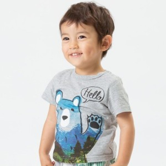 F.O.オンラインストア(F.O.Online Store)/クマプリントTシャツ