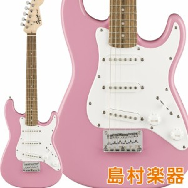 Squier by Fender スクワイヤー / スクワイア Mini Strat Laurel Fingerboard Pink エレキギター ストラトキャスター