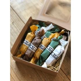 糖質制限チョコバー10本セット(ミルク・抹茶・ホワイト・ビター)