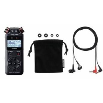 Roland ローランド CS-10EM + TASCAM DR-05X ASMR 録音 バイノーラルマイクレコーダーセット
