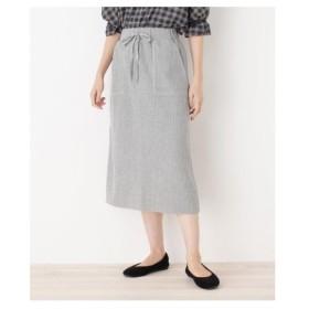 SHOO・LA・RUE(Ladies)(シューラルー(レディース))ワッフルロングスカート