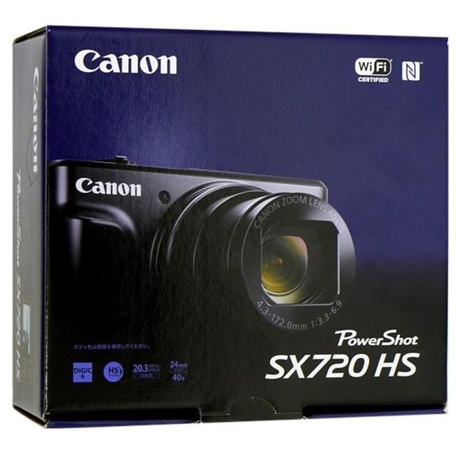 【キャッシュレスで5%還元】【中古】Canon製 PowerShot SX720 HS レッド 2030万画素 元箱あり