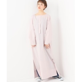 journal standard luxe 【ATON/エイトン】 SQUARE COTTON MAXI DRESS ピンク B 2