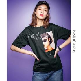 [マルイ] ゆるシルエットデザインTシャツ/ジーラ バイ リュリュ(ファッション)(RyuRyu)
