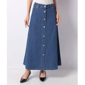 allureville アルアバイル デニムフロントボタンスカート