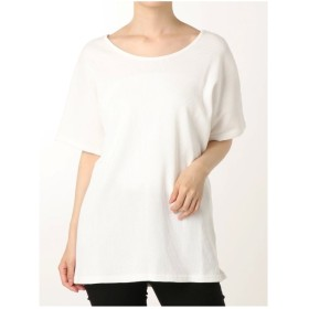 EMODA バックカットアウトTシャツ(ホワイト)