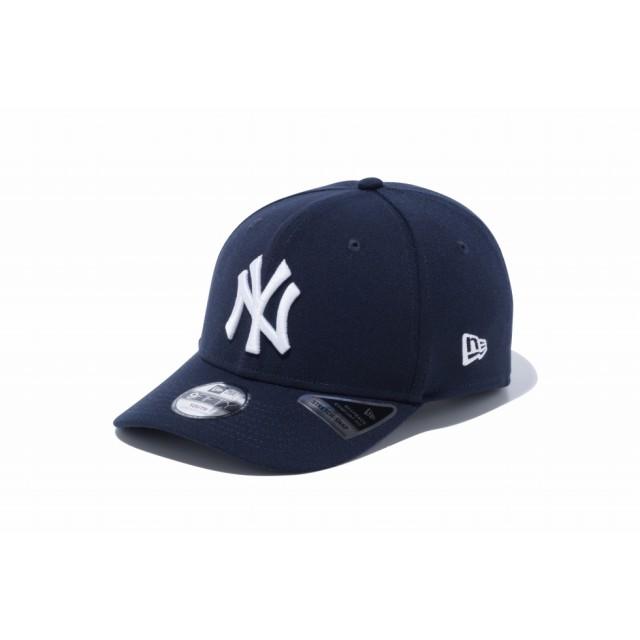 【ニューエラ公式】キッズ 9FIFTY ニューヨーク・ヤンキース ネイビー × スノーホワイト 男の子 女の子 52 - 55.8cm MLB キャップ 帽子 12108293 NEW ERA