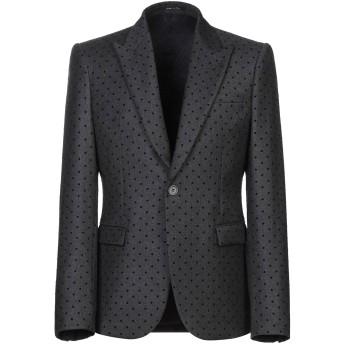 《期間限定セール開催中!》EMPORIO ARMANI メンズ テーラードジャケット 鉛色 48 バージンウール 93% / ナイロン 7%