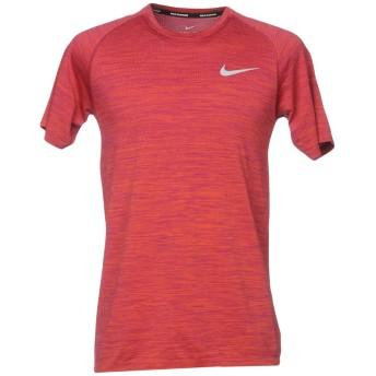 《期間限定セール開催中!》NIKE メンズ T シャツ 赤茶色 XXL 50% ナイロン 50% ポリエステル