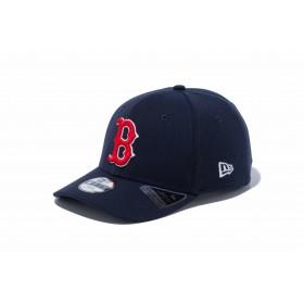 【ニューエラ公式】キッズ 9FIFTY ボストン・レッドソックス ネイビー × スノーホワイト ラディアントレッド 男の子 女の子 52 - 55.8cm MLB キャップ 帽子 12108296 NEW ERA