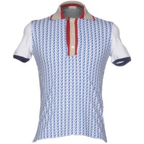 《期間限定 セール開催中》PAOLO PECORA メンズ ポロシャツ ブルー S コットン 100%